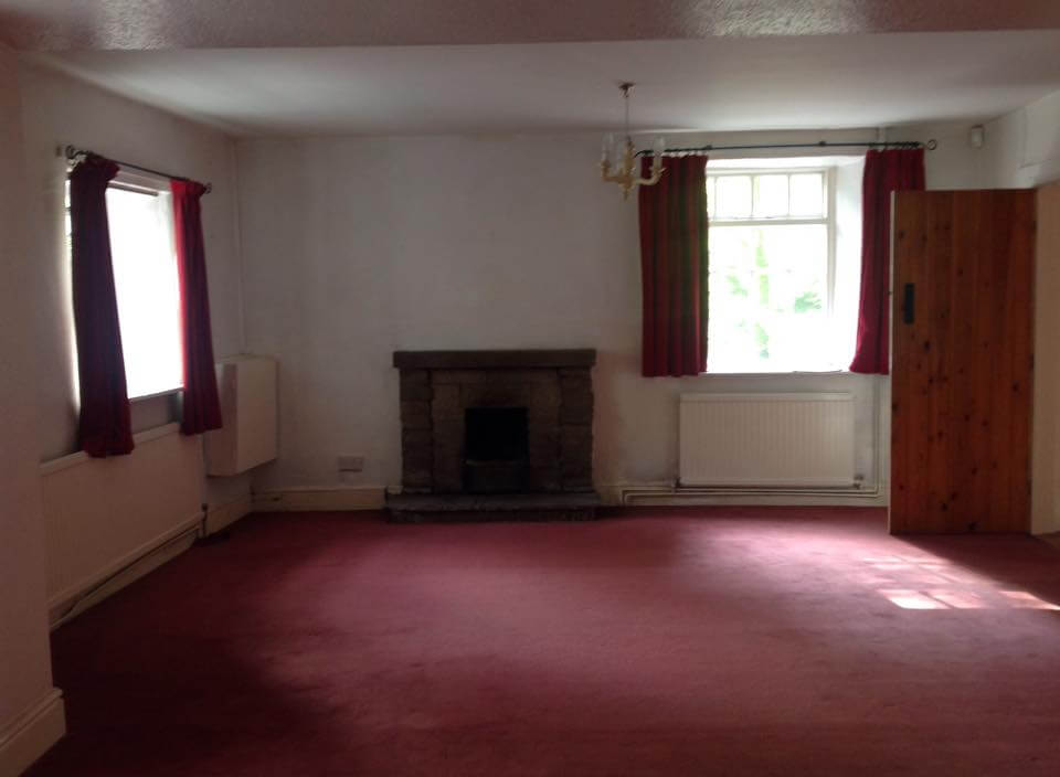 Our empty shell of a sitting room.