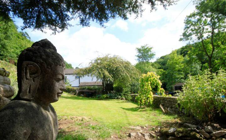 Find inner peace in one of our two gardens at Angler's Cottage B&B