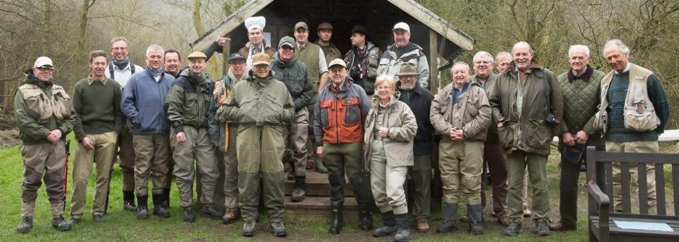 Opening day at Cressbrook & Litton Flyfishers' Club